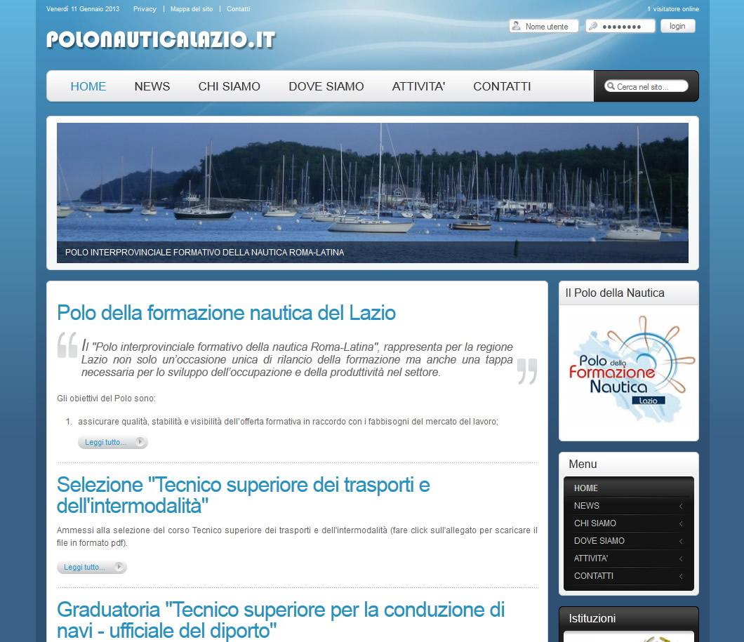 Polo formazione Nautica del Lazio